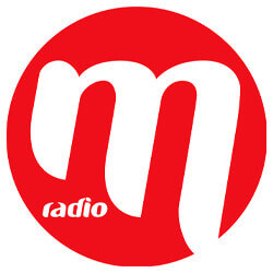 M Radio logo